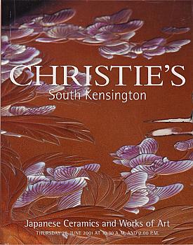 CSK20010628: Bookshop: [2001] Christie's South Kensington Japanese Ceramics and Works of Art