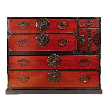 NH12158: Yonezawa 2-section chest