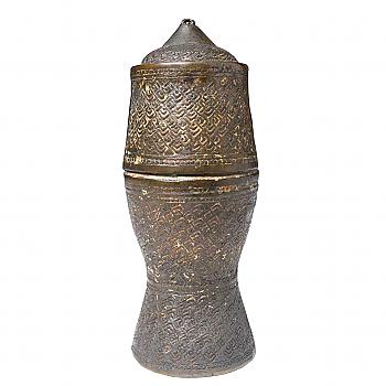 TA04021: Brass Lime Storage Box