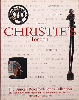 CL20000607: Bookshop: [2000] The Duncan Beresford-Jones Collection of Japanese Art