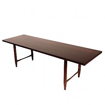 UH80079: Mid-Century American Rosewood Veneer Cocktail Table