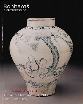 BSF20081209: Bookshop: [2008] Bonhams & Butterfields San Francisco Fine Asian Works of Art