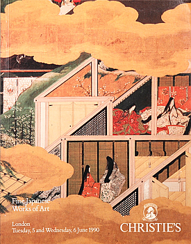 CL19900605: Bookshop: [1990] Christie's London Fine Japanese Works of Art
