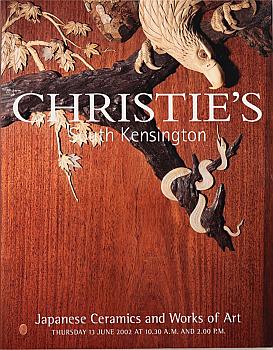 CSK20020613: Bookshop: [2002] Christie's South Kensington Japanese Ceramics and Works of Art