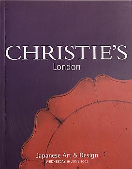 CL20020619: Bookshop: [2002] Christie's London Japanese Art and Design