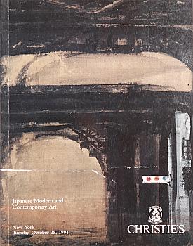 CNY19941026: Bookshop: [1994] Christie's New York Japanese Modern and Contemporary Art
