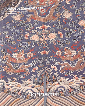BSF20160322: Bookshop: [2016] Bonhams San Francisco Asian Decorative Arts