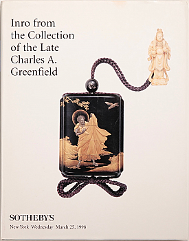 SNY19980325: Bookshop: [1998] Sotheby's Inro from the Collection of the Late Charles A Greenfield