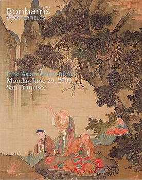 BSF20090629: Bookshop: [2009] Bonhams & Butterfields San Francisco Fine Asian Works of Art