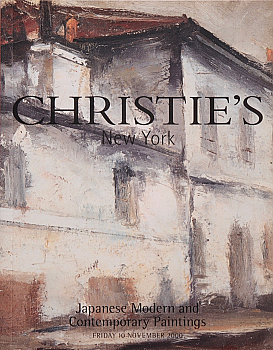 CNY20001110: Bookshop: [2000] Christie's New York Japanese Modern and Contemporary Paintings