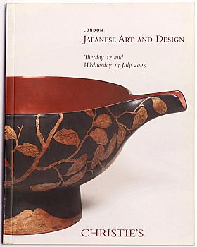 CL20050711: Bookshop: [2005] Christie's London Japanese Art and Design