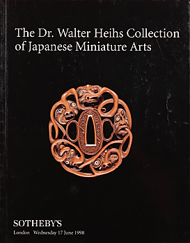 SL19980619: Bookshop: [1998] Sotheby's The Dr. Walter Heihs Collection of Japanese Miniature Arts