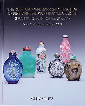 CNY20160914: Bookshop: [2016] Barron Fine Chinese Snuff Bottles: Part III