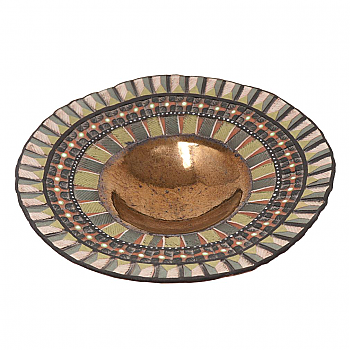 UH80190: Contemporary Ceramic Bowl, Hennie Meyer, 2002