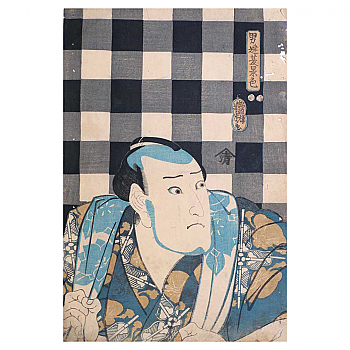 UH20114: Actor Print by Yoshitora