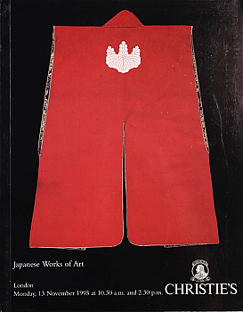 CL19951113: Bookshop: [1995] Christie's London Japanese Works of Art