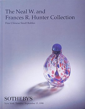 SNY19980915: Bookshop: [1998] The Hunter Collection, Fine Chinese Snuff Bottles