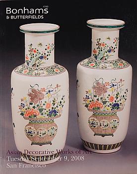 BSF20080909: Bookshop: [2008] Bonhams & Butterfields San Francisco Asian Decorative Works of Art