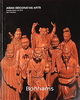 BSF20150310: Bookshop: [2015] Bonhams San Francisco Asian Decorative Arts