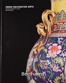 BSF20161018: Bookshop: [2016] Bonhams San Francisco Asian Decorative Arts