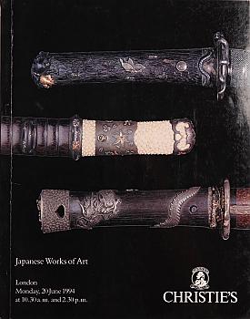 CL19940620: Bookshop: [1994] Christie's London Japanese Works of Art